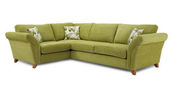 Lullaby Express Right Hand Facing 3 Seater Formal Back Corner Sofa