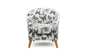 Pattern Accent Chair