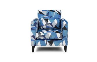 Pattern Accent Chair Lustre Pattern