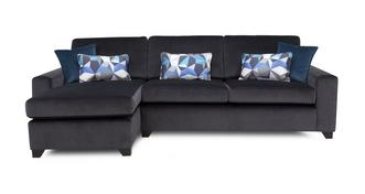 Lustre Left Hand Facing Chaise End 3 Seater Sofa
