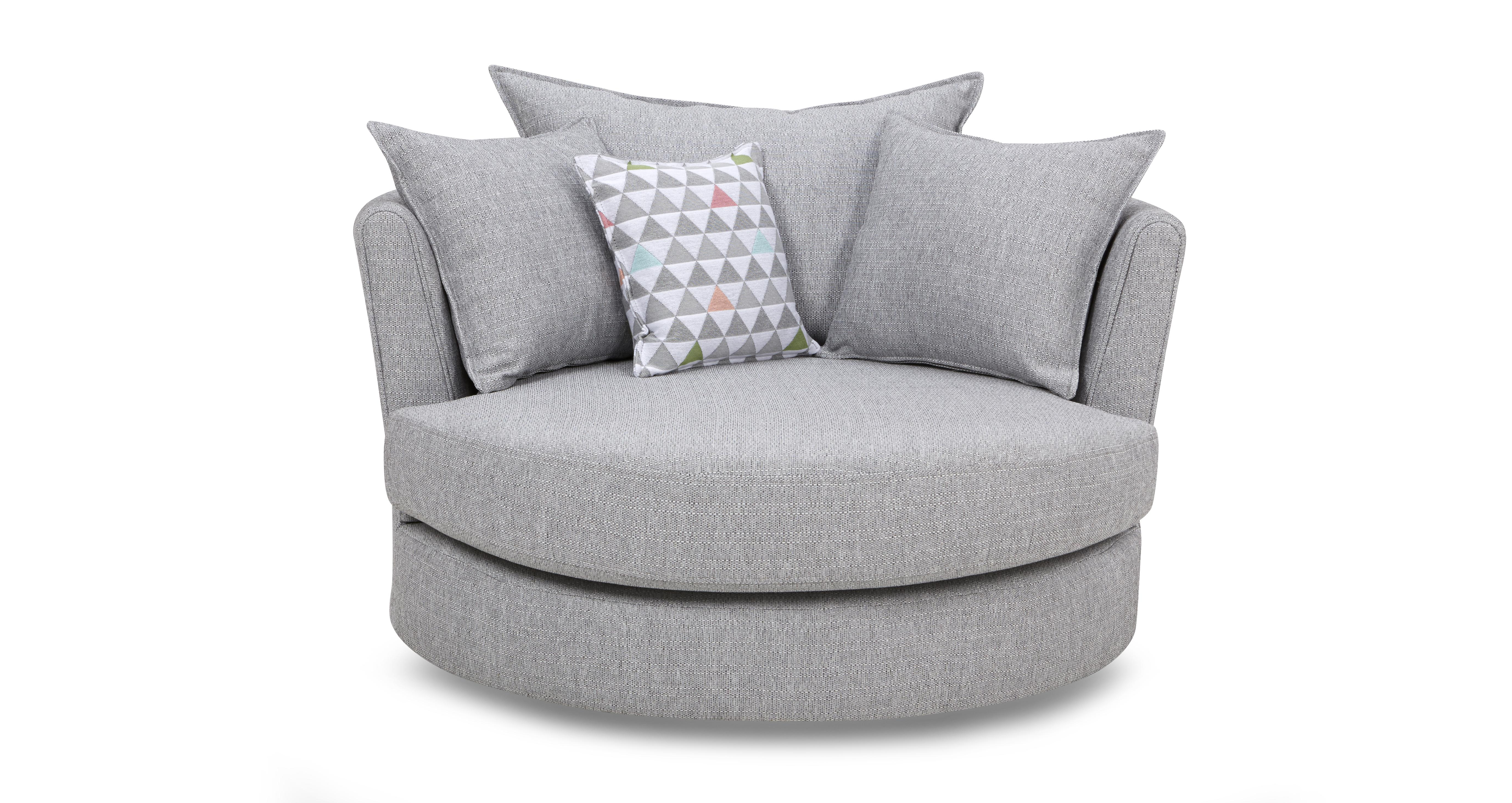 Lydia Large Swivel Chair | DFS Ireland