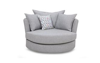 lydia large swivel chair dfs