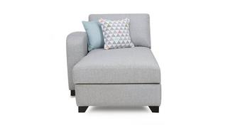 Lydia Left  Hand Facing 1 Arm Chaise Unit