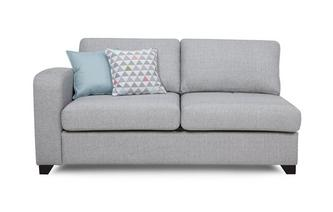Left Hand Facing 1 Arm 3 Seater Deluxe Sofa Bed Lydia