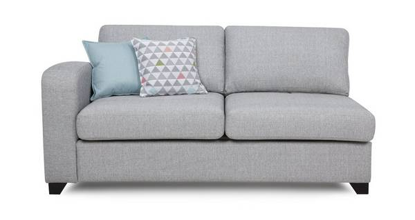 Lydia Left Hand Facing 1 Arm 3 Seater Supreme Sofa Bed