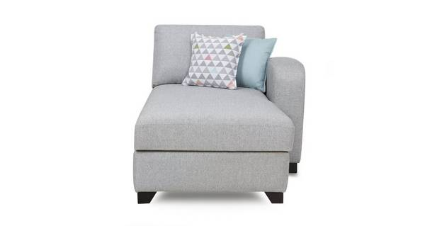 Lydia Right Hand Facing 1 Arm Chaise Unit