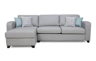 Genial Left Hand Facing Chaise End 3 Seater Sofa