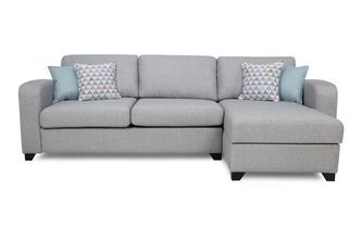 Right Hand Facing Chaise End 3 Seater Sofa