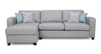 Lydia Left Hand Facing Chaise End 3 Seater Supreme Sofa Bed