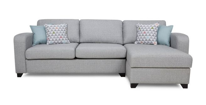 Lydia: Right Hand Facing Chaise End 3 Seater Supreme Sofa Bed