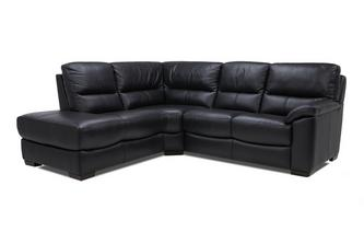 Leather and Leather Look Right Arm Facing 2 Piece Corner Sofa Essential