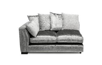 Pillow Back Left Hand Facing 1 Arm 2 Seat Unit