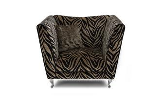 Tiger Pattern Armchair