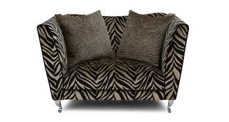 Madagascar Tiger Pattern Cuddler Sofa