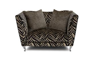 Tiger Pattern Cuddler Sofa Madagascar