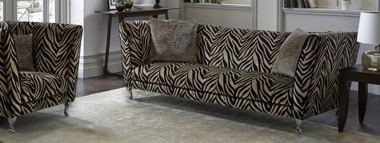 Madagascar Animal Print Sofa