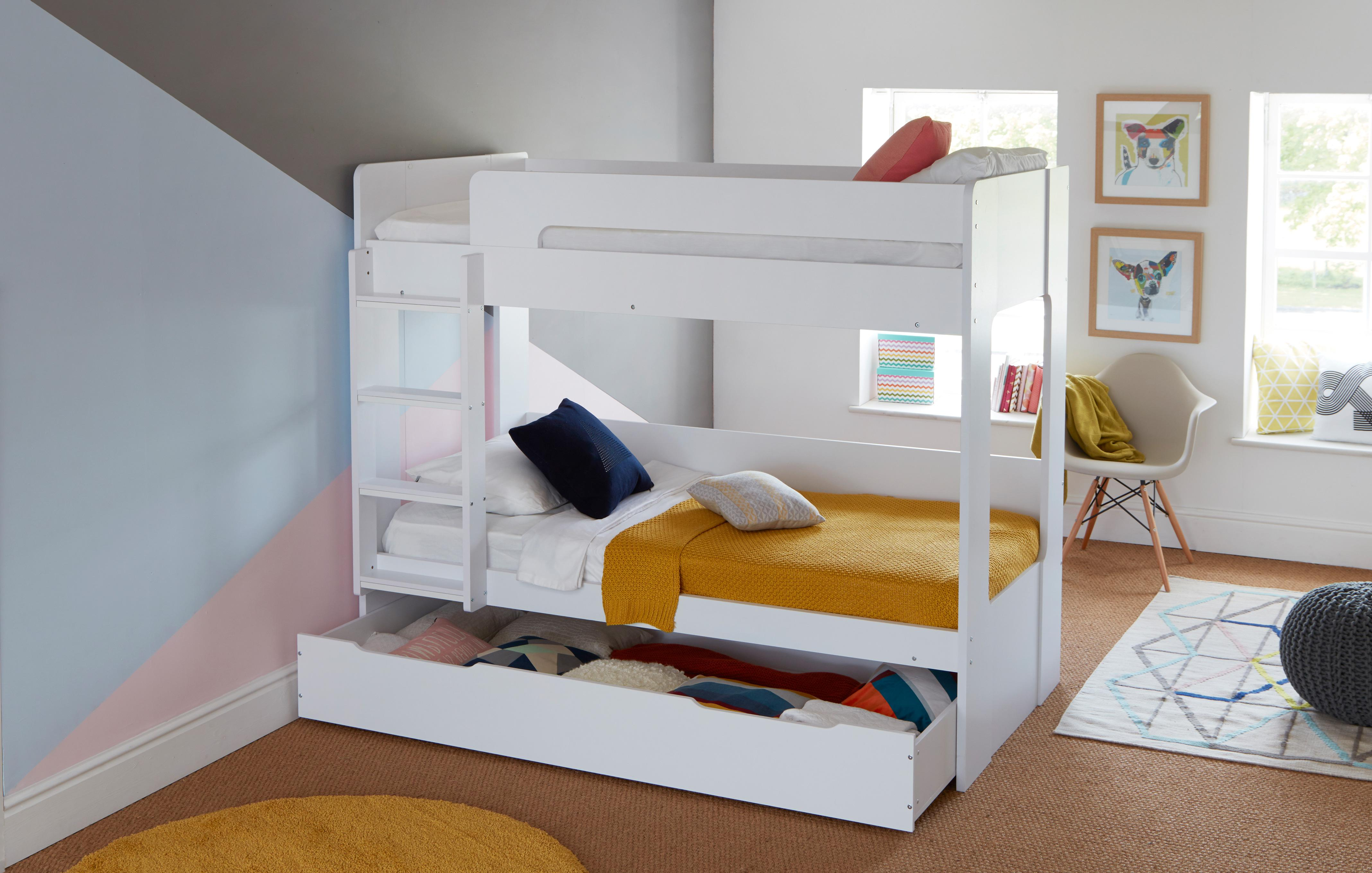 Madison Bunk Bed With Underbed Storage Dfs