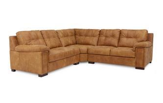 3 Piece Corner Sofa Saddle