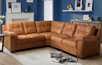 Magnus 3 Piece Corner Sofa Saddle