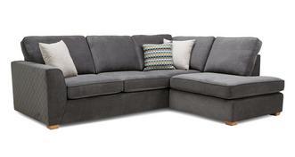 Mahiki Left Hand Facing Arm Open End Corner Sofa