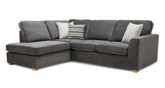 Mahiki Right Hand Facing Arm Open End Corner Sofa