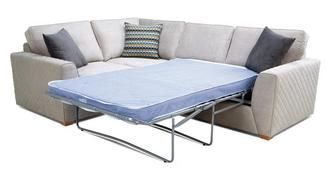 Mahiki Right Hand Facing 2 Seater Deluxe Corner Sofa Bed