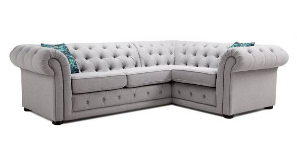 Maida Left Hand Facing Arm 2 Seater Corner Sofa