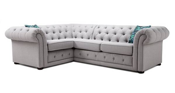 Maida Right Hand Facing Arm 2 Seater Corner Sofa