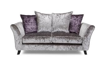 2 Seater Pillow Back Sofa Krystal
