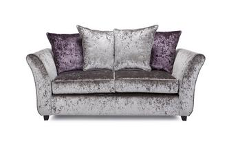 2 Seater Pillow Back Deluxe Sofabed Krystal