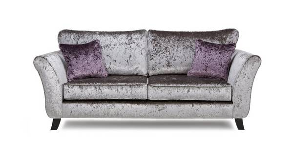 Maie 3 Seater Formal Back Sofa