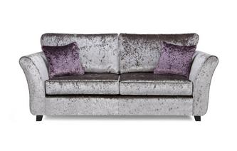 Maie 3 Seater Formal Back Deluxe Sofabed Krystal