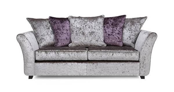 Maie 3 Seater Pillow Back Deluxe Sofabed