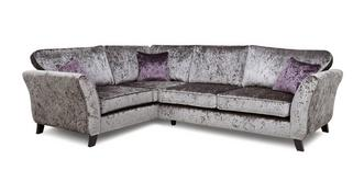 Maie Right  Hand Facing 2 Seater Formal Back Corner Sofa
