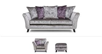 Maie Clearance 3 Seater, Standard Chair & Footstool