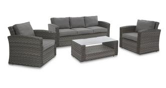 Malibu 3 Seater Sofa Set
