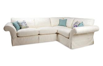 Pattern Left Hand Facing 3 Seater Corner Sofa