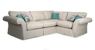 Malvern Plain Left Hand Facing 3 Seater Corner Sofa