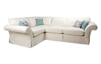 Pattern Right Hand Facing 3 Seater Corner Sofa