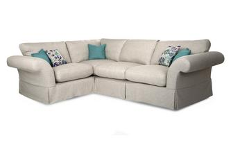 Plain Right Hand Facing 3 Seater Corner Sofa