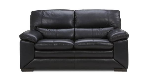 Mantra Leather and Leather Look 2 Seater Sofa