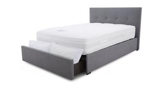 Marcel King (5 ft) Bedframe with Storage