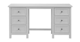 Marina Double Pedestal Dressing Table