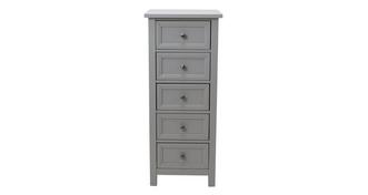Marina 5 Drawer Tall Chest
