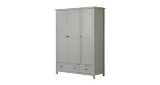 Marina 3 Door Combination Wardrobe