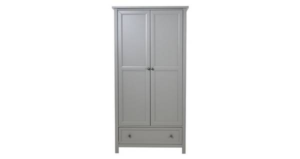 Marina 2 Door Combination Wardrobe