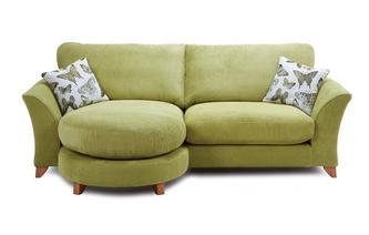 Mariposa 4 Seater Formal Back Lounger Sofa Mariposa
