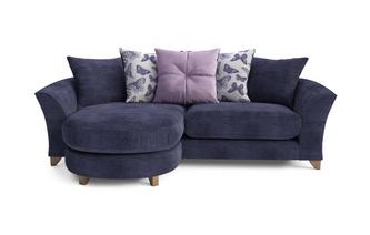 Mariposa 4 Seater Pillow Back Lounger Sofa Mariposa