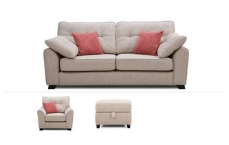 3 Seater, Chair & Stool