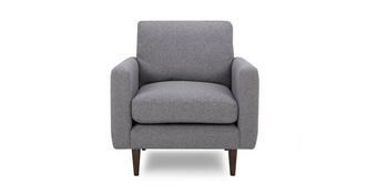Marl Fabric Armchair